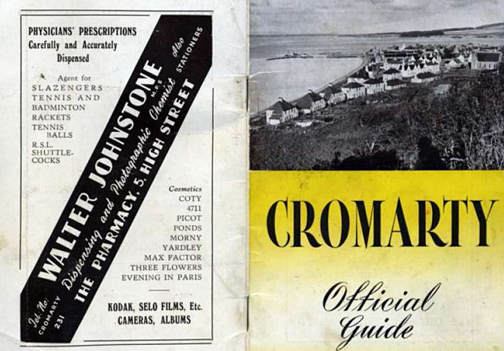 Cromarty - Official Guide - c1960?