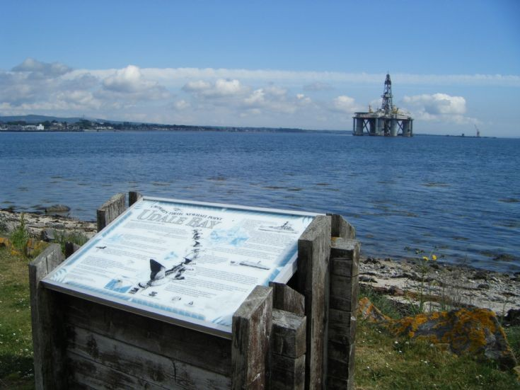 Udale Bay interpretive panel