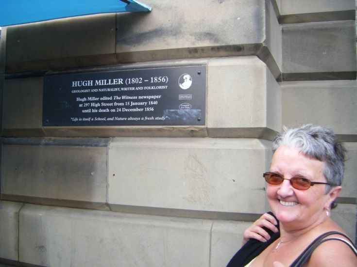 Hugh Miller Plaque