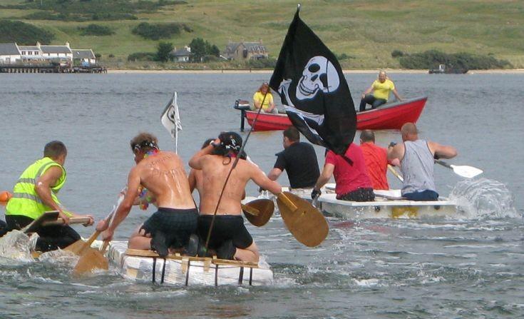 The daft raft race, july 2009.