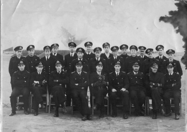 828 Squadron, at HMS OWL (Fearn)
