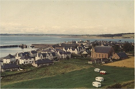View from the Manse - c1960