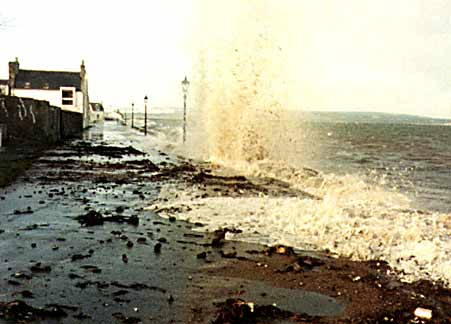 Storm on Shore St - 1983