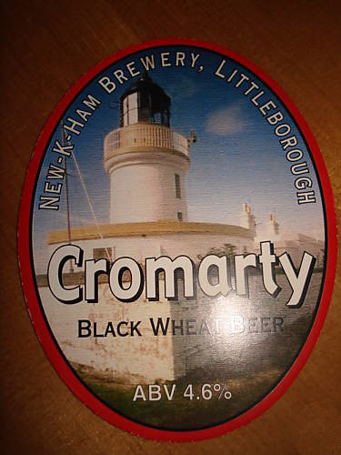 New-K-Ham Cromarty Beer Pump Clip