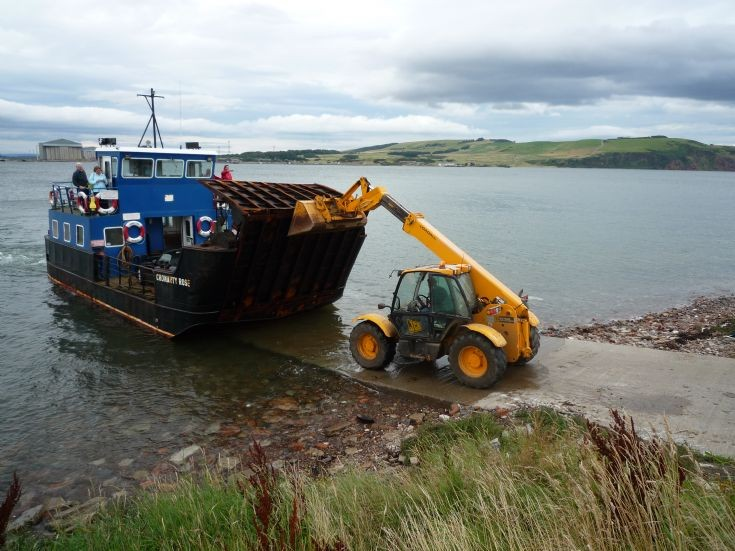 August 2009 - ferry ramp failure