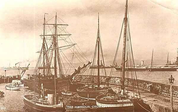 Cromarty Harbour - c1903