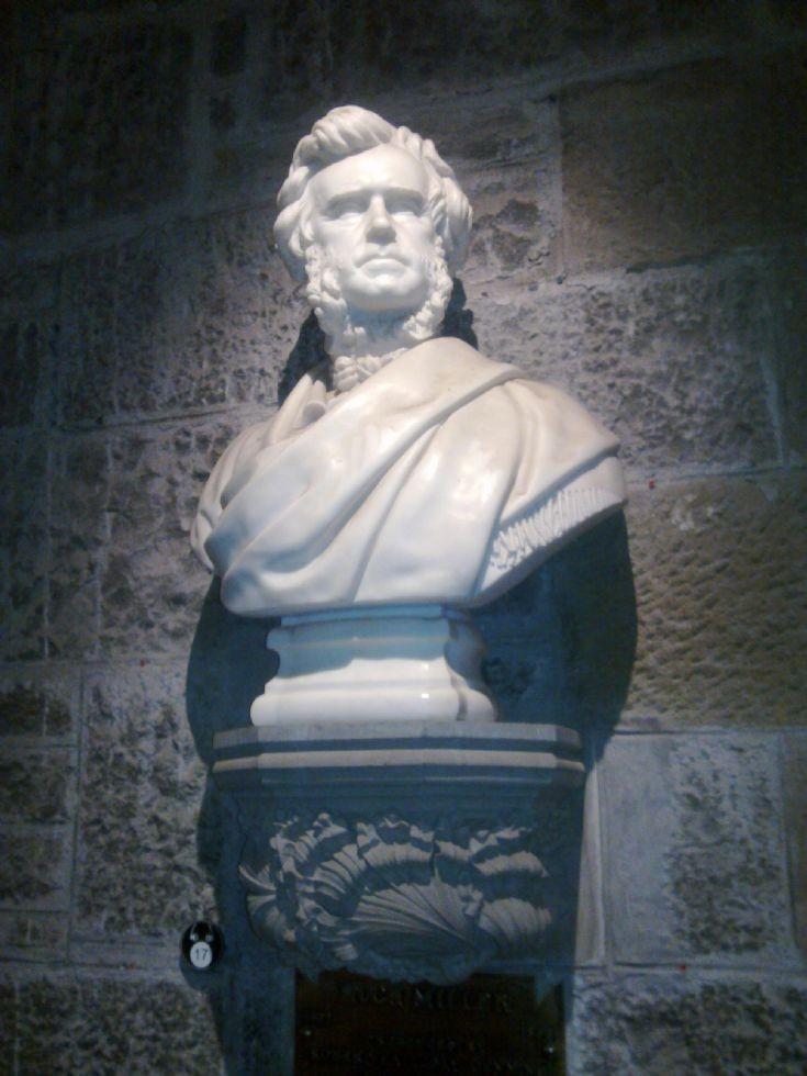Hugh Miller Bust