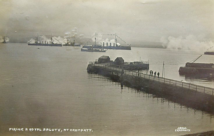 The Harbour before the WW1 extension was added.