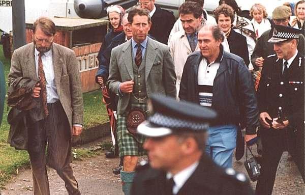 Prince Charles Visits Cromarty
