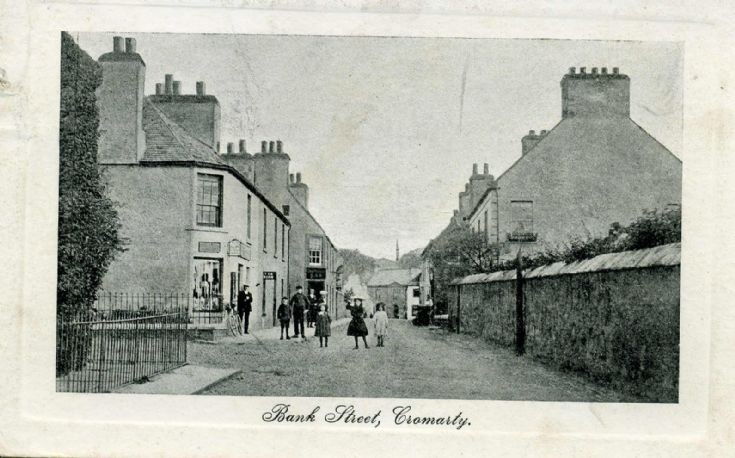 Bank Street, Cromarty c1919
