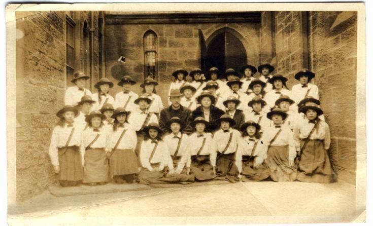 Girl Guides - 1912