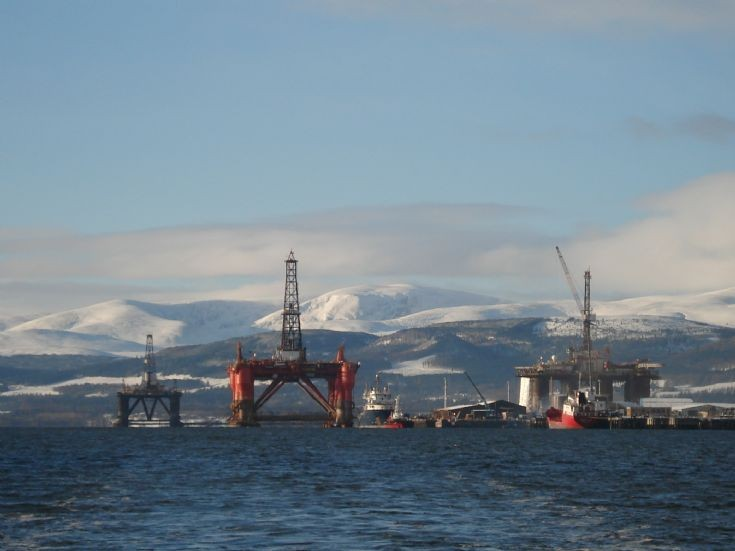 Looking to Invergordon