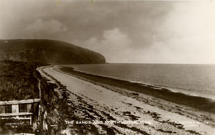 Nigg beach and the North Sutor - c1920s