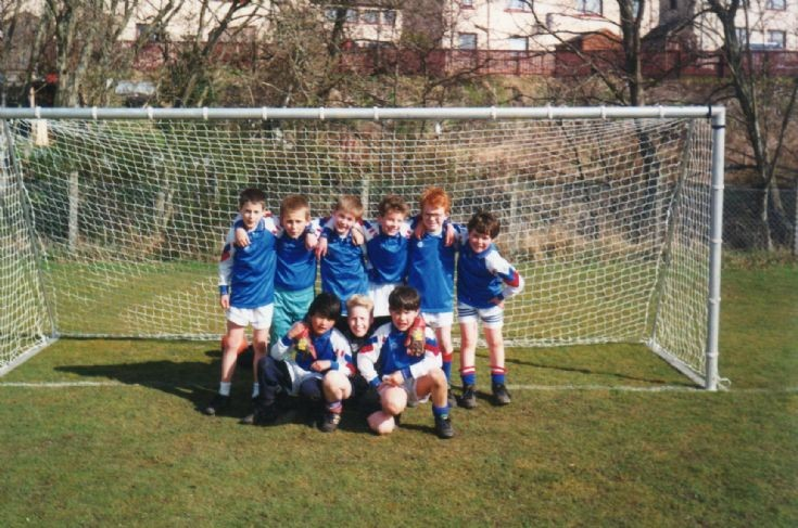 Cromarty Primary school p5/6/7 football team 1994.