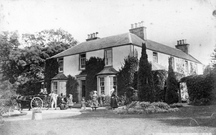 Rose Farm, House and Gardens in 1891