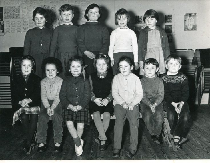 Cromarty School Primary 1 Class, 1963/64