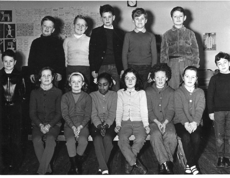 Cromarty Primary school, 1963/64