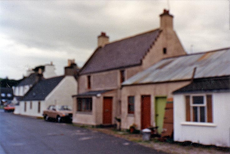 Ron's cottage, shore street, c1988