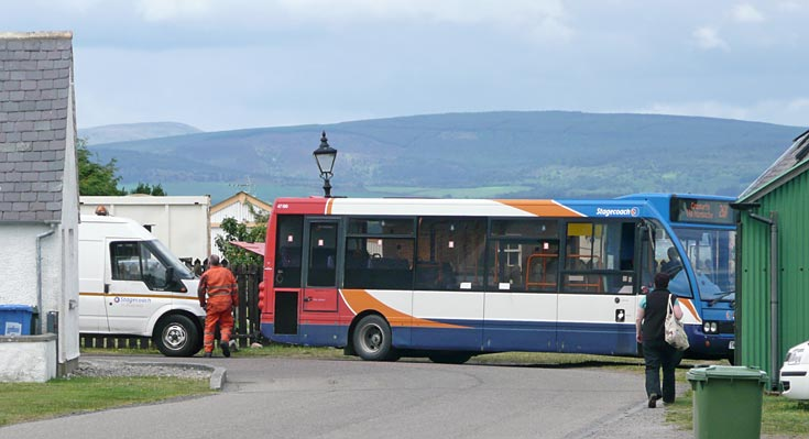 Stagecoach 26A Inverness to Cromarty bus breaks down - again