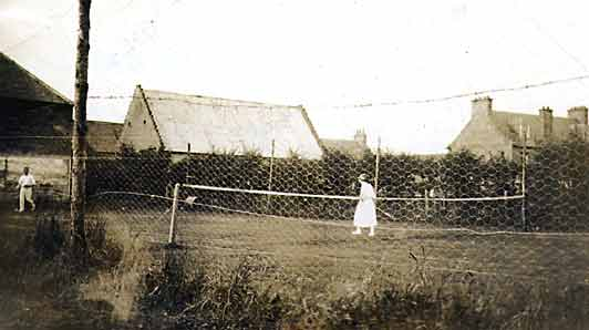 Old Tennis Courts - c1910