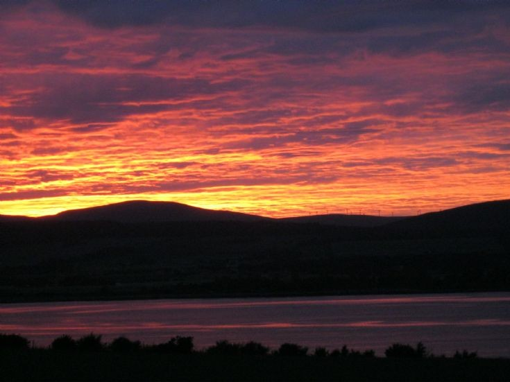 Sunset at Balblair