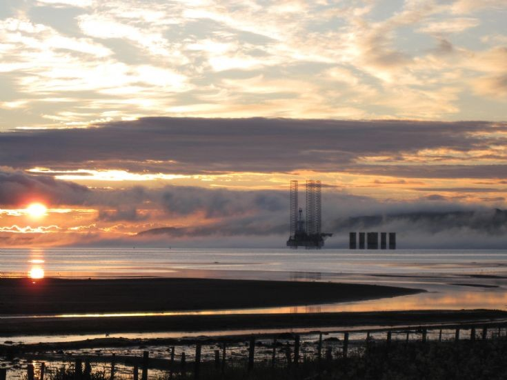 Cromarty Firth on a July dawn