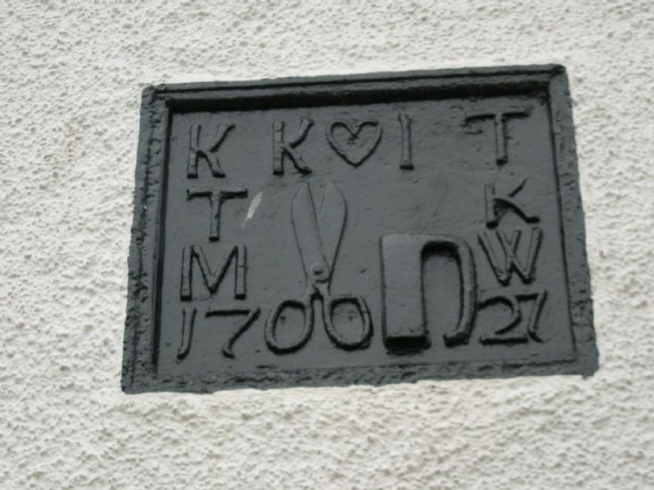 The Marriage Stone at No.7 Braehead