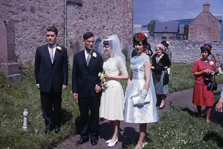 Wedding at the East Church on 22 June 1963