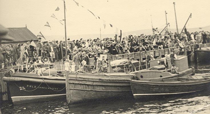 Cromarty Regatta 1956