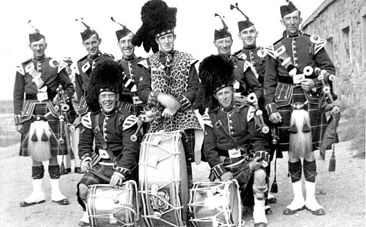 Cromarty Town Pipe Band - c1939?
