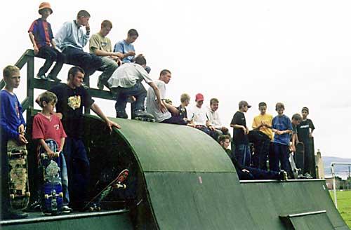 Cromarty Skatepark - c2002