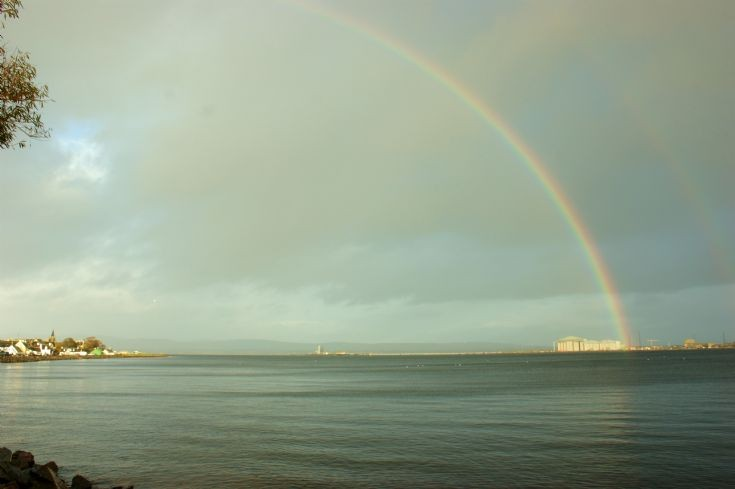 Rainbow across the Cromarty Firth