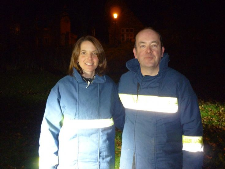 Georgia Macleod and Ian Donald - Bonfire Night 2010