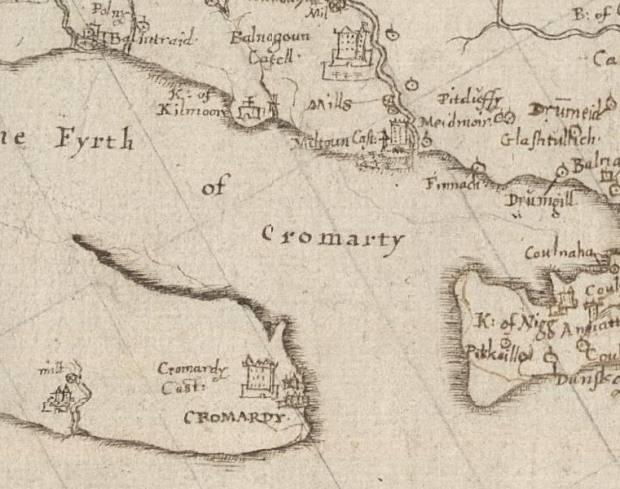 Pont's Map - c1590