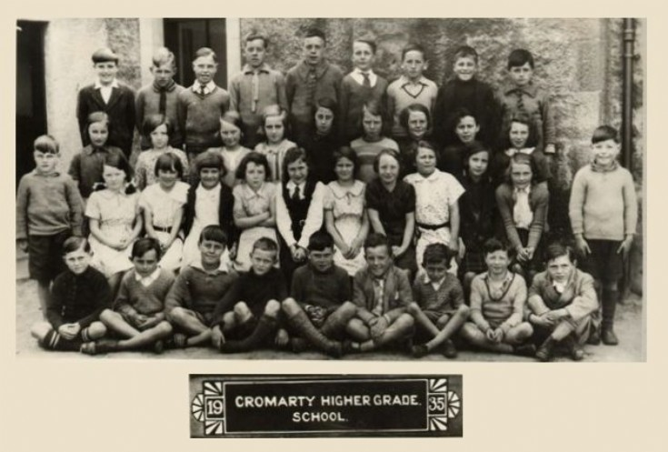 Cromarty Higher Grade School
