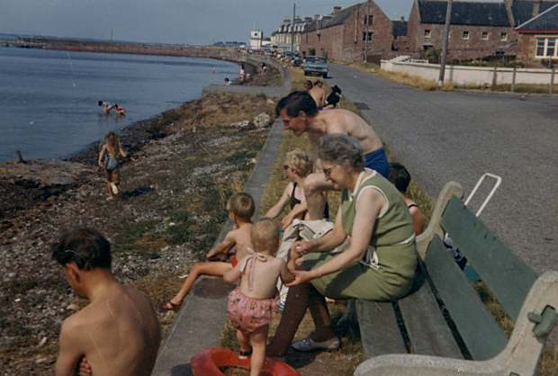 Bathers on Marine Terrace - c1969
