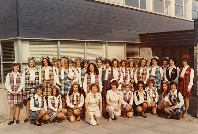 HiFab hostesses - c1973