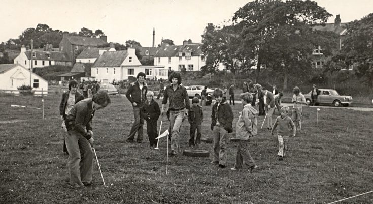 Golf on the links - youth club fun day - c1978