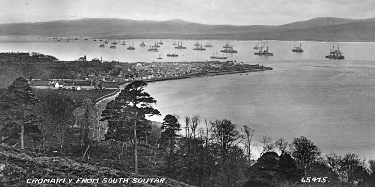 Cromarty from South Soutar - 1930s