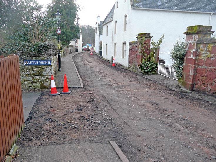 Church Street roadworks 2011