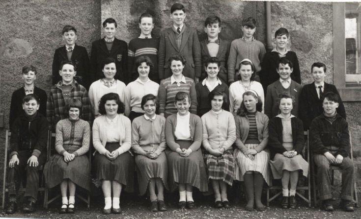 Cromarty School - c1958