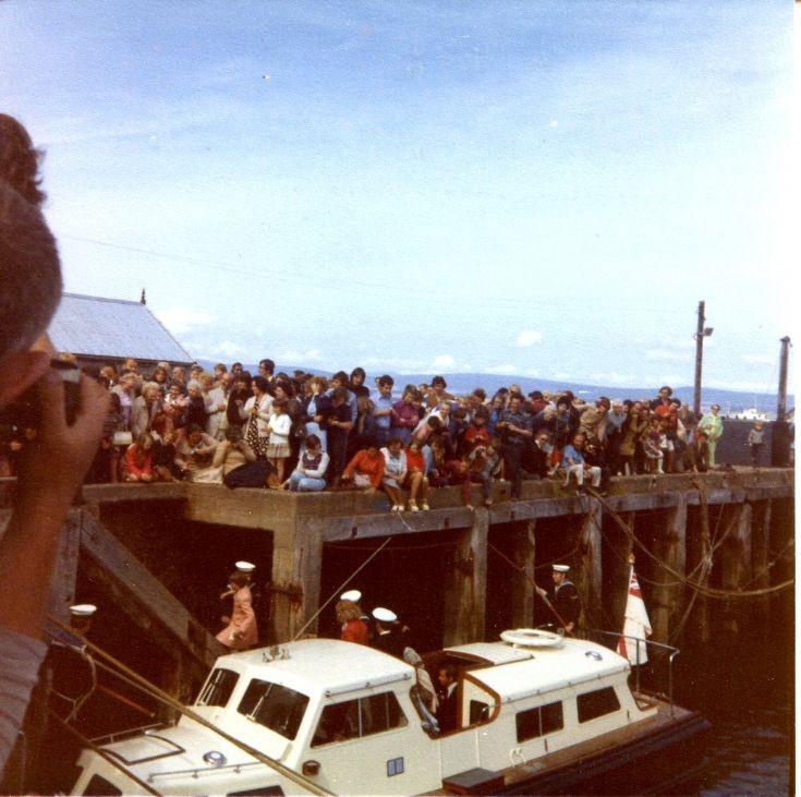 Queens visit 1964