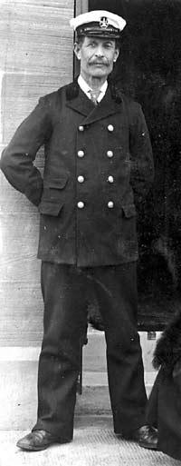 Robert Clyne, Lighthousekeeper - c1920