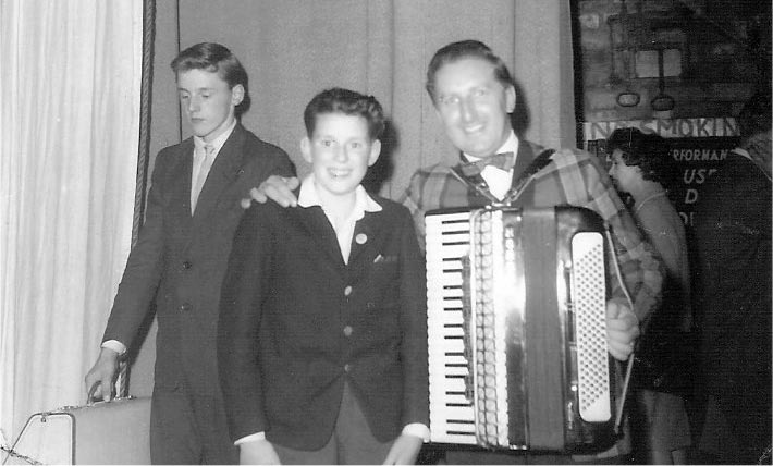 John MacDonald at the Highland Accordion Championships 1963