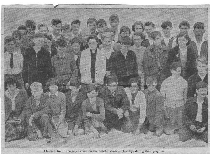 Children from Cromarty School