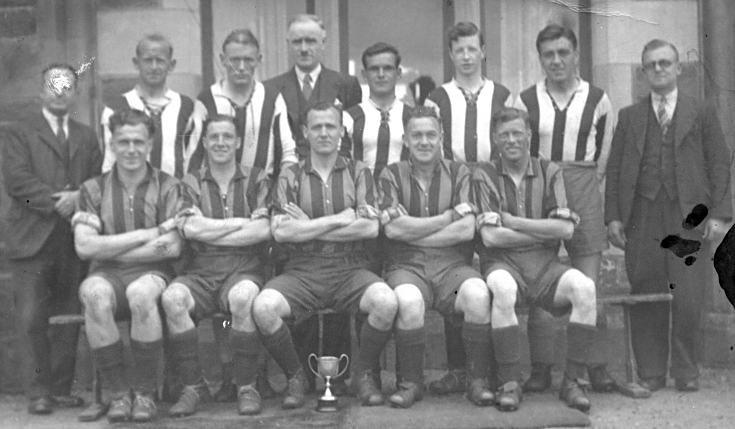 Cromarty Football Team c1930????