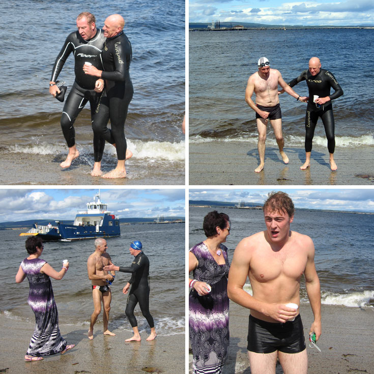 Cromarty Firth Swim 2011