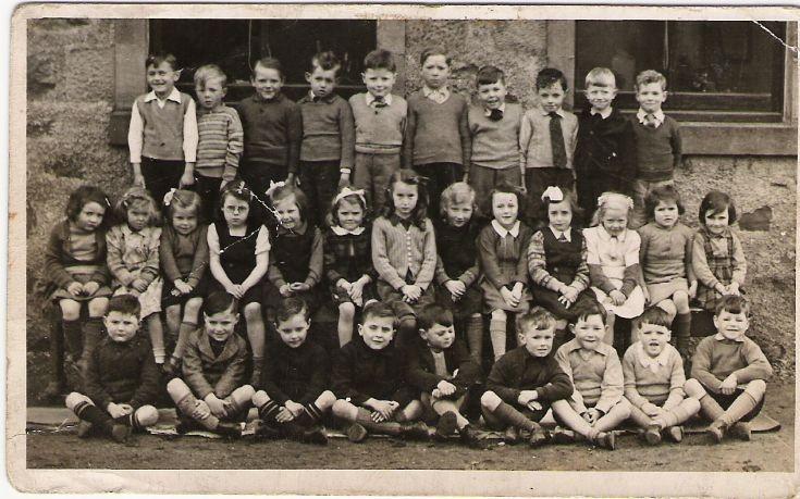 Cromarty Primary - c1948