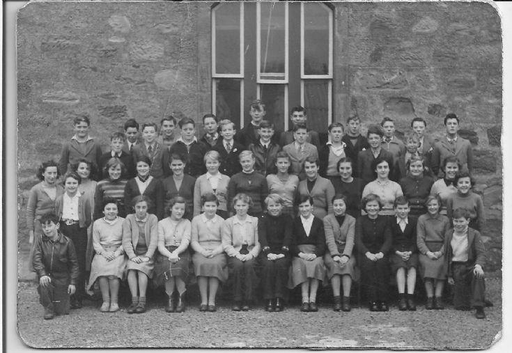 Cromarty School c1957