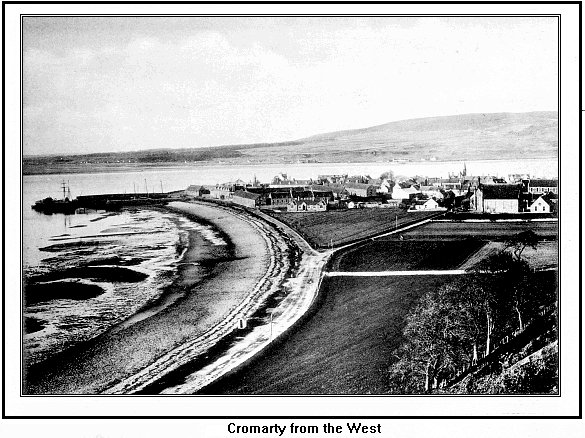 Cromarty from the west